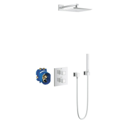 Grohtherm Cube Ensemble de douche avec Rainshower Allure 230 (34506000)
