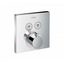 Set de finition pour mitigeur thermostatique ShowerSelect E encastré avec 2 fonctions (15763000)