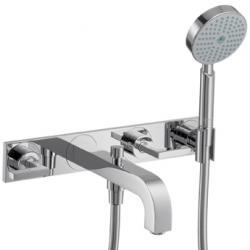 Axor Citterio Set de finition pour mélangeur bain/douche 3 trous encastré