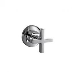 """Axor Citterio Set de finition pour robinet d'arrêt 1/2"""" et 3/4"""" poignée croisillon (39965000)"""