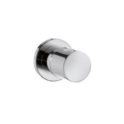 """Set de finition pour robinet d'arrêt à encastrer 1/2"""" et 3/4"""" avec poignée cylindrique"""
