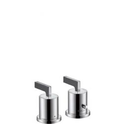 Axor Citterio Set de finition pour thermostatique 2 trous pour montage sur bord de baignoire (39482000)
