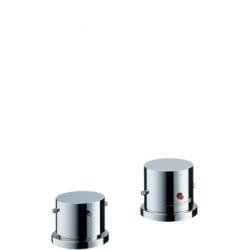 Set de finition pour thermostatique 2 trous pour montage sur bord de baignoire (10480000)