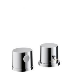 BOUROULLEC Set de finition pour thermostatique 2 trous pour montage sur bord de baignoire (38480000)