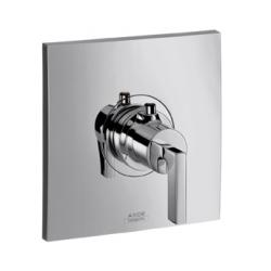 CITTERIO - Set de finition pour mitigeur thermostatique encastré haut débit poignée manette (39711000)