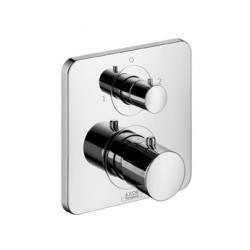 Set de finition pour mitigeur thermostatique encastré avec robinet d'arrêt/inverseur (34725000)