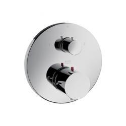 Mitigeur thermostatique encastré avec robinet d'arrêt et inverseur (10720000)