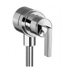 Fixfit Stop. Coude avec robinet d'arrêt intégré, poignée manette (39882000)
