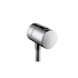 Uno Fixfit Stop. Coude de raccordement avec robinet d'arrêt intégré (38882000)