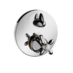 CARLTON - Set de finition pour mitigeur thermostatique encastré avec robinet d'arrêt (17705090)