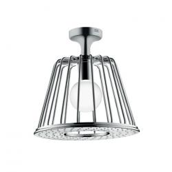 Axor LampShower avec raccordement plafond designed by Nendo