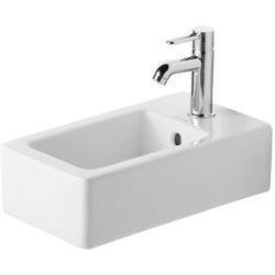 Vero Lave-mains avec trop-plein, avec plage de robinetterie, 250 mm