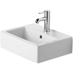 Vero Lave-mains Med sans trop-plein, avec plage de robinetterie, 450 mm
