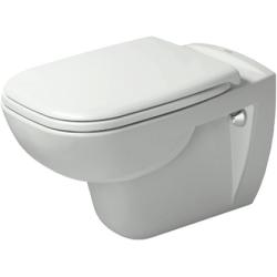 D-Code Cuvette de WC suspendu à fond creux (2535090000)