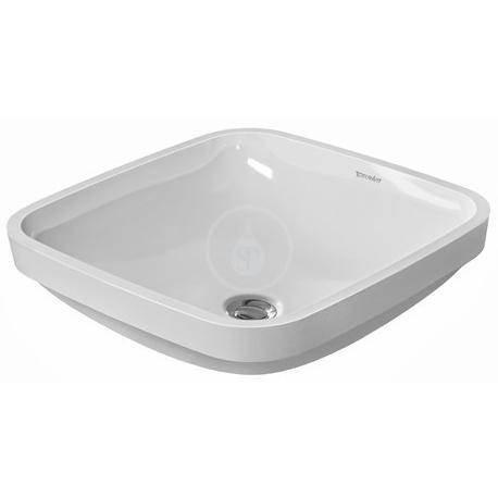 DuraStyle Vasque à encastrer, 370 mm x 370 mm, blanc - Akaaz
