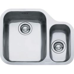ARIANE - Inox évier ARX 160/2, 598x485 mm, gauche, bol + siphon (122.0120.032)
