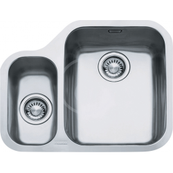 ARIANE - Inox évier ARX 160/7, 598x485 mm, miska + siphon (122.0120.031)