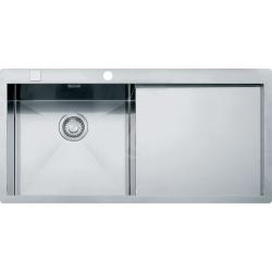 Planar - Inox Évier PPX 211/611 /2 TL, 1000x512 mm, gauche (127.0203.464)
