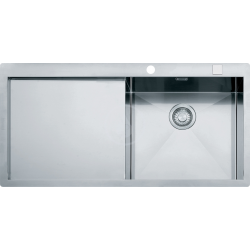Planar - Inox Évier PPX 211/611 /7 TL, 1000x512 mm, droite (127.0203.465)