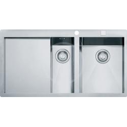 PLANAR - Inox évier PPX 251/651 TL, 1000x512 mm, droite + siphon (127.0203.468)