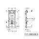 Bâti-support fixation murale Duofix (111.300.00.5)