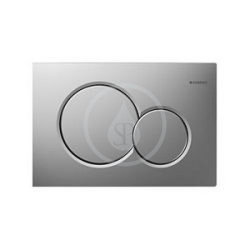 Geberit Sigma01 Plaque de declenchement- Chromé mat (115.770.46.5)