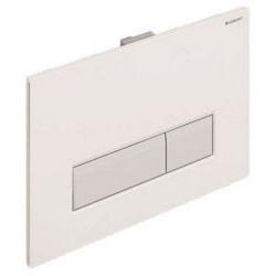 Sigma40 - Plaque de déclenchement SIGMA40 GEBERIT blanc alpin (115.600.KQ.1)