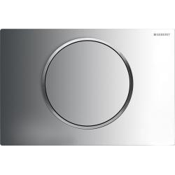 Plaque de déclenchement Sigma10 Chrome brillant (115.758.KH.5)