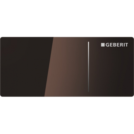 plaque de d clenchement omega70 geberit chocolat. Black Bedroom Furniture Sets. Home Design Ideas