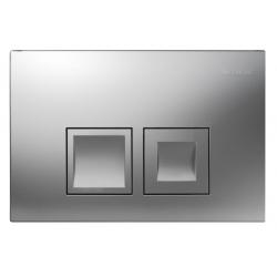 Plaque de déclenchement à deux touches DELTA50 (115.135.46.1)
