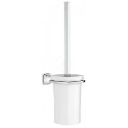 Grandera Porte-balai de WC en verre