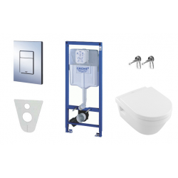 Pack WC Grohe Rapid SL + Cuvette Villeroy