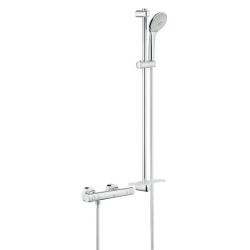 Grohtherm 1000 Cosmopolitan - Thermostat mitigeur de douche M, douche réglé 900 mm, chrome (34321002)
