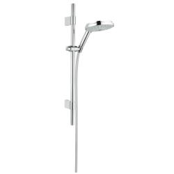 Sprchová souprava, 4jet, 600 mm, chrom