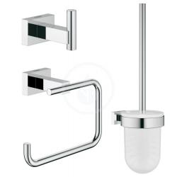 Essentials Cube Set accessoires 3-en-1 pour toilettes publiques
