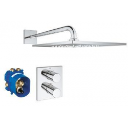 Grohtherm 3000 Cosmopolitan - Ensemble de douche, chrome (26261000)