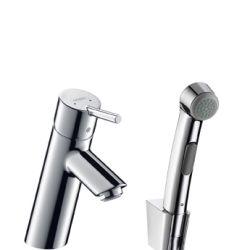 Hansgrohe Talis S2 - robinet et douchette à main pour bidet, chrome