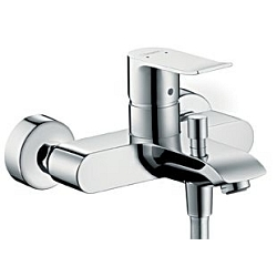 Metris Single lever bath mixer for exposed installation (31480000)