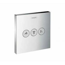 Set de finition Robinet d'arrêt ShowerSelect E pour 3 fonctions (15764000)
