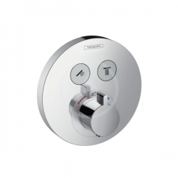 Set de finition pour mitigeur thermostatique ShowerSelect S encastré avec 2 fonctions (15743000)