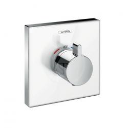 ShowerSelect Glass Set de finition en verre pour mitigeur thermostatique ShowerSelect E encastré haut débit (15734400)