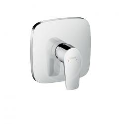Talis E Set de finition pour mitigeur douche haut débit encastré