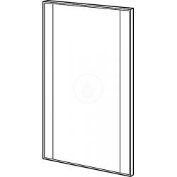 SILK - Miroir avec élément éclairé
