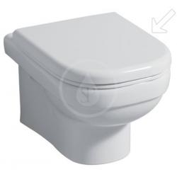 Keramag WC dejuna lunette de toilette avec couvercle blanc