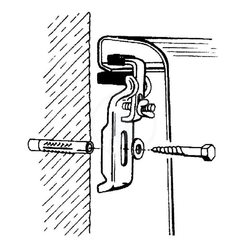 kit fixation baignoire KIT DE FIXATION POUR BAIGNOIRE KERAMAG (1 JEU)