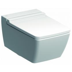 Cuvette de WC à fond creux Keramag Xeno², sans rebord de rinçage, 4,5/6 l, suspendue
