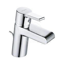 Mitigeur lavabo - bec cascade - limiteur débit O-Cean 15,7 x 11,5 cm