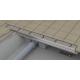 Conduit d'évacuation de douche Ravak Chrome 850 (Réf. X01427)