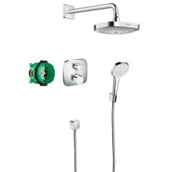 Pack encastré Design ShowerSet Croma Select E / Ecostat E (27294000)