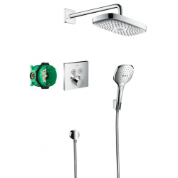 Raindance Select E, Pack encastré Design ShowerSet Raindance Select E / ShowerSelect, chromé (27296000)